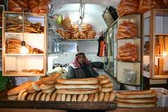 Man selling in Bread