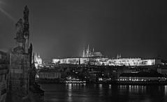 Prague castle and Lesser Quarter at night (Alli.) Tags: 1 prague czechrepublic canoneos350d canonrebelxt bohemia zone canon28135mm 2013 praguezone1