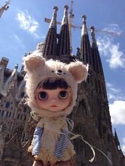 A Mariuka girl in Barcelona :)