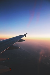 Up in the air (Je suis Eli) Tags: ocean above light sunset sea sun window water field photoshop plane canon eos israel fly flying flight jordan filter land 550d canon550d canoneos550d eos550d airjordanian