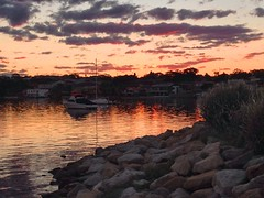 Kogarah Bay (Mariasme) Tags: evening iphone kogarahbay pregamesweepwinner pregameduelwinner uploaded:by=flickrmobile flickriosapp:filter=nofilter
