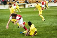Uche (Teremin2004) Tags: leica football soccer futbol villareal leicam8 2division ligaadelante elmar135mmf4 estadioelmadrigal