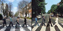 Abbey Road - The Beatles - CD Cover Reinactment (GazTruman) Tags: road abbey set cd cover beatles abbeyroad thebeatles reinactment filminglocations