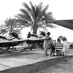 Drying Off (Kyre Wood) Tags: beach wednesday gulf father son towel tourist resort arab usm arabian f18 geezer qatar mesaieed sealine ef28mm