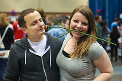 bacon rose between the teeth - Baconfest 2013.jpg (opacity) Tags: chicago illinois il baconfest uicforum baconfestchicago chicagobaconfest baconfest2013 baconfestchicago2013 chicagobaconfest2013 baconfest2013candidish baconfestcasuals2013 baconfest2013nondishes