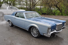 "1969 Lincoln Mark III • <a style=""font-size:0.8em;"" href=""http://www.flickr.com/photos/85572005@N00/8681313744/"" target=""_blank"">View on Flickr</a>"