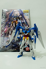 MG AGE-2 Gundam AGE-2 Normal 1/100 (QTTheory) Tags: mg gundam bandai 1100 age2 gunpla plamo mastergrade gundamage agegundam2