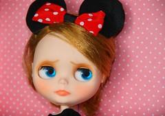 Pretending to be Minnie