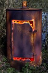 Old furnace (KF-Photo) Tags: lava pentax rost bleistift baggersee glhen ofenrohr fegefeuer alterofen tamron1750 kirchentellinsfurt k20d schmelztiegel