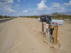 2007-08-17-(usa-arizona)-buzones (alberto rincon garcia) Tags: road arizona usa mailbox desert carretera desierto estadosunidos eeuu buzon costaoeste
