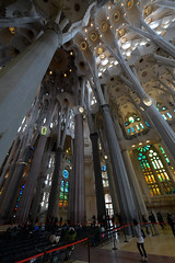 Sagrida Familia Barcelona (JinLancs) Tags: geocity exif:iso_speed=500 exif:focal_length=14mm camera:make=nikoncorporation exif:make=nikoncorporation geostate geocountrys exif:lens=140240mmf28 exif:aperture=28 exif:model=nikond800e camera:model=nikond800e