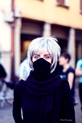 Cosplay Contest (oki_jappo) Tags: life light shadow portrait people italy eye girl lady photoshop canon pose lights donna nice eyes soft italia alone cosplay ombre persone occhi luci fareast ritratto luce ragazza friuli udine friuliveneziagiulia feff 2013 fareastfilmfestival cosplaycontest udcitt udeventi udgente