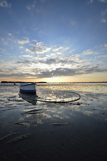 Sandbanks Sunset