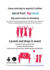 Sompting poster Feb 2013 (Big Local) Tags: poster flyer event invitation posters leaflet publicity invite flyers leaflets sompting biglocal localtrust