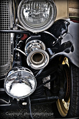 Stack of Three 1929 Ford Roadster (Photographybyjw) Tags: classic ford three fantastic shot north an stack carolina restored horn 1929 roadster heaslights photographybyjw