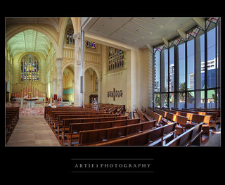St Mary's Cathedral, Perth, Western Australia :: HDR