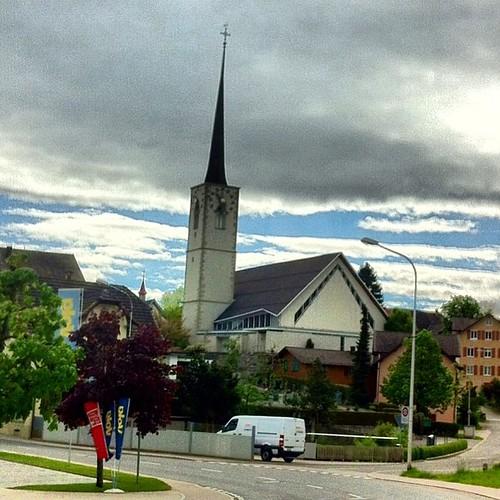 Katholische Kirche Rickenbach #katholisch #kirche #rickenbach #rickenbachlu #rickenbachluzern #luzern #lucerne #schweiz #swiss #svizzero #switzerland #suíça #iloveluzern #iloveswitzerland #instagram #instaworld #instagood #instafoto #instapic #instatravel