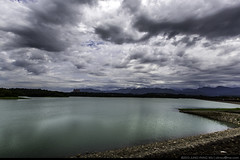 Renyitan Reservoir  (olvwu | ) Tags: sky cloud mountain lake water landscape cloudy taiwan reservoir chiayi    jungpangwu oliverwu oliverjpwu chiayicity renyitan  chiayicounty olvwu fanlu jungpang fanlutownship