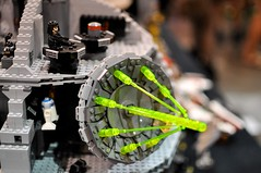 Lego Death Star (Tom_Forbes) Tags: starwars lego deathstar phoenixcomicon