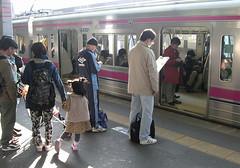 Setagaya-ku, Tokyo (ymtrx79g ( Activity stop)) Tags: street railroad color japan tokyo casio     setagayaku compactdigitalcamera casioexilimexz850 stopandwait  201304blog