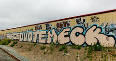 Peros, Dvote, Meck (You can call me Sir.) Tags: california graffiti bay east bayarea northern meck peros dvote 222ok