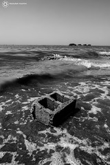 Rocks B&W (sombek | Abdullah Hashim) Tags: sky sun beach angel canon studio cam c sony wide tokina sa hashim  dslr  abdullah      1116 600d                  abdullahx