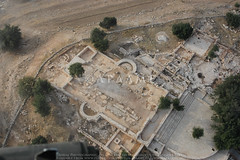 Mar Elias (APAAME) Tags: church flight2 flying2006 marelias roman digitalcamera aerialarchaeology aerialphotography middleeast airphoto archaeology ancienthistory