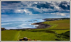 Looking South (Peter Leigh50) Tags: dunstanburgh castle craster sea seaside seascape view northumberland
