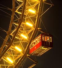 """"""" Vienna-Prater250 years """" (Kalbonsai) Tags: wien vienna nikon d5100 1685mm nachtfotografie nightphotography langzeitbelichtung prater 250years kirmis lights gondel riesenrad"""
