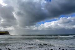 Lennox Head (dustaway) Tags: headland seascape poststorm sky ocean southpacificocean coralsea cloudscape waves breakingwaves coast northcoast nsw australia australianlandscape lennoxhead