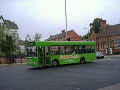 K&H Doyle W365ABD Hucknall (Guy Arab UF) Tags: kh doyle w365abd dennis dart slf plaxton pointer bus hucknall nottinghamshire buses