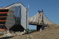 Bridge & Construction Site (Roosevelt Island/NYC) (chedpics) Tags: newyork rooseveltisland queensborough 59thstreet bridge