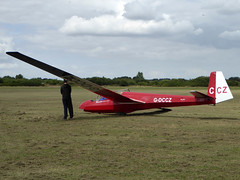 G-DCCZ / CCZ Schleicher ASK 13 cn 13070 Bicester 09Aug16 (kerrydavidtaylor) Tags: glider sailplane