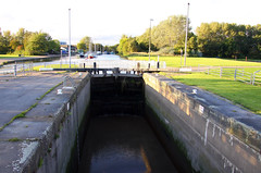 Northern England #0097 Widnes 140911 St Helens Canal Lock (Steveox55) Tags: canal lock merseyside widnes spikeisland