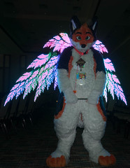 Megaplex Light Painting (Firr13) Tags: fursuit light painting