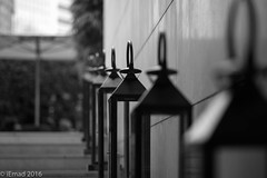 The side candles... (EHA73) Tags: aposummicronm1290asph leica leicamm typ246 hongkong travel candles stairs theupperhouse decoration blackandwhite bw