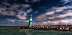Leuchtturm Warnemnde (Der Hamlet) Tags: leuchtturm lighthouse warnemnde kste hafen germany balticsea ostsee mecklenburgvorpommern
