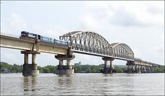 Kalyan WDM3D 11455 with KR1 Ratnagiri Madgaon Passenger on Zurai Viaduct. (Omkar Sawant) Tags: kalyan wdm3d ratnagiri madgaon passenger goa konkan railway