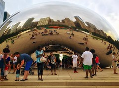 Chicago Snap (Nanu Leiza @ Malibu Pics) Tags: illinois streetphotography photography summer people love cloudgate thebean chicago
