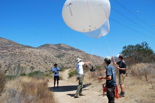 San Dieguito Balloon Mapping