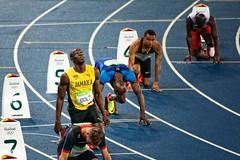 Usain Bolt - Rio 2016 - Estdio Olmpico Nilton Santos - RJ ( Gabriel Franceschi) Tags: gabriel franceschi nikon d300s nikkor 70300mm f4556 olympic games athletics usain bolt 200m
