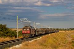 Morning Service (feverpictures) Tags: bdz coal train dimitrovgrad class 07 diesel locomotive track
