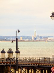 Portsmouth from Ryde, Isle of Wight (photphobia) Tags: ryde isleofwight uk seaside coastal town resort victorianresort victorian oldtown oldwivestale outdoor outside buildings building buildingsarebeautiful architecture unionstreet portsmouth