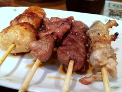 Chicken skewers from Toriman @ Kamata (Fuyuhiko) Tags:  chicken skewers from toriman kamata  tokyo