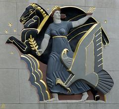 Art Deco (Jersey JJ) Tags: art deco wall rockefella center nyc manhattan new york city