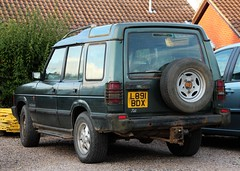 L891 BDX (Nivek.Old.Gold) Tags: 1993 land rover discovery tdi 5door 2493cc