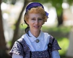 Lady at the Reenactment (Jose Matutina) Tags: california civilwar confederate historical history huntingtonbeach orangecounty reenactment sel85f14gm sonya7ii union unitedstates