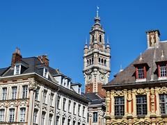 Lille - Place du Général de Gaulle (JeanLemieux91) Tags: beffroi clocher lille nordpasdecalais france août august agosto verano summer été 2016