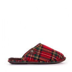 Bedroom Athletics - Ewan - Tartan Check Mule Slippers - Red / Green (Bedroom Athletics) Tags: mens ewan tartan check mule slippers red green by bedroom athletics wool mix upper warm comfortable lining branded metal rivet textile covered nonslip tpr sole sleeping comfort bed bedrooms beds sleep lounge wear good feeling cozy easy relaxing relax snug contented satisfying enjoyable delightful lovely handsome smart dapper classy fashionable popular attractive interesting striking bedroomathletics room loungewear clothing womens nightwear slipper style look fashion stylish