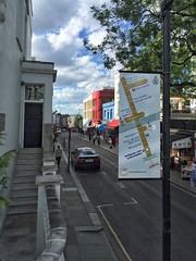 Antiques & Collectables at Chepstow Villas from above (RBKC Markets) Tags: portobelloroad portobellomarket portobello market marketsigns signs wayfinding wayfinders nottinghill portobelloroadmarket sign marketsign wayfinder diagram